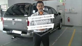 How to   VW Amarok Sound Booster Install