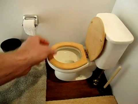 miniature toilet fully functional youtube. Black Bedroom Furniture Sets. Home Design Ideas