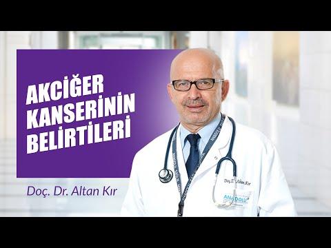 Doç. Dr. Altan Kır - Akciğer Kanserinin Belirtileri
