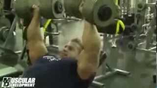 Джей Катлер тренировка груди 180 дней до Мистер Олимпия 2013
