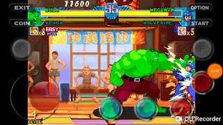 Hulk vs Mega Man y Wolverine