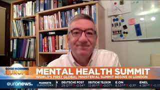 #GME | First ever Global Ministerial Mental Health Summit begins in London
