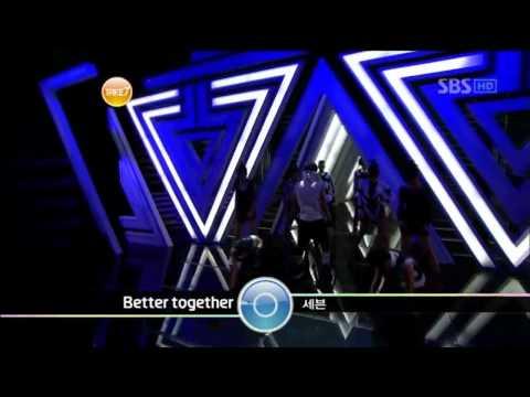 SE7EN - Digital bounce + Better together @ SBS Inkigayo 인기가요 100801