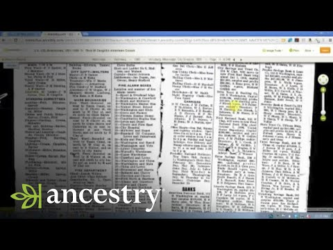 Using City Directories in Your Research   Ancestry