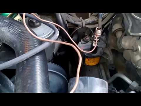 Mercedes 124, метод как проверить катушку зажигания на неисправность.