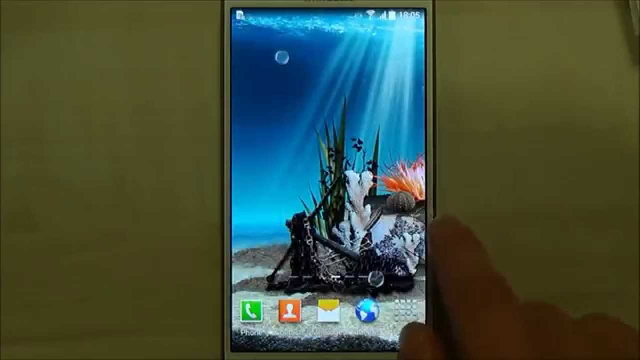 3d aquarium live wallpaper for android youtube voltagebd Choice Image