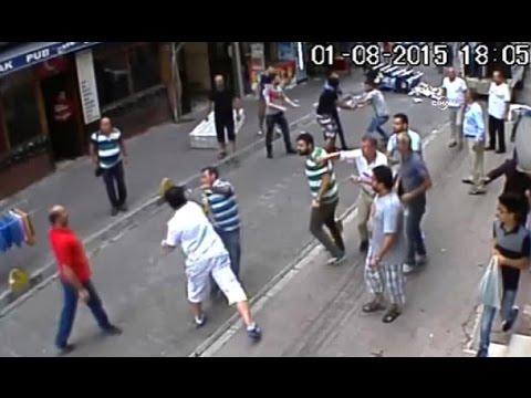 İrlandalı turist önüne geleni yere serdi