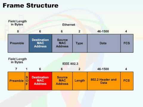 074 06 ethernet fram structure 05 frame structure - Ethernet Frames