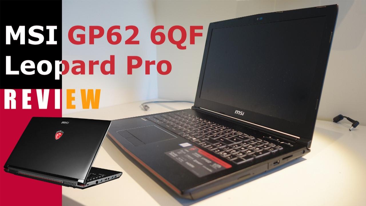 MSI GP62 6QF Leopard Pro Driver Download (2019)