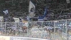 "Ambrì Piotta. ""La Montanara"" nel derby vs Lugano, LNA Svizzera Hockey 2016-17"