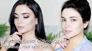 Wedding Guest GRWM   Makeup Hair & Outfit   TheMakeupChair