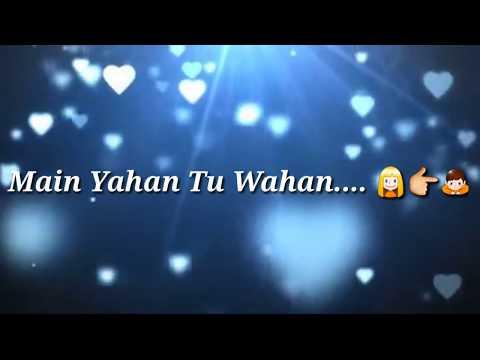 Heart Touching Hindi Sad Song with Lyrics !! love Song !!Romantic Song !!( Whatsapp status )
