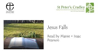 Outdoor Passion Station 5 Jesus Falls