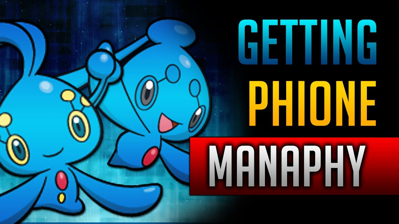 How Where To Catch Get Manaphy Phione In Pokemon Black 2 Pokemon White 2 Youtube