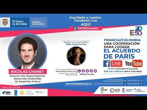 Francia/Colombia una Cooperación para lograr el acuerdo de París_Subtítulos inglés