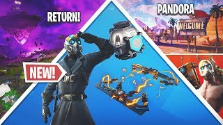 Fortnite 10.20 Update TODAY! Pandora Rift Zone, All Leaks, Free Items!