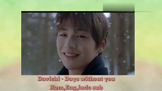 Davichi - Days without you (rom,eng,indo sub) - Stafaband