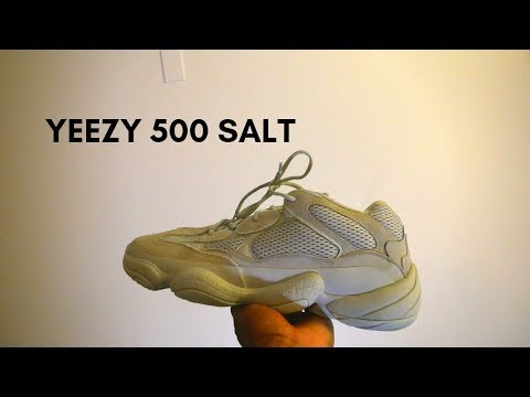 6c5c5c886 I Got These Yeezys On StockX for Retail ! Yeezy 500 Salt On foot+ Review