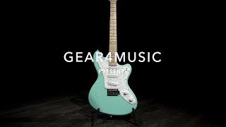 Seattle Electric Guitar Seafoam Green | Gear4music Demo Resimi