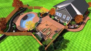 Landscape Design In 3d Changing Elements And Enviroment