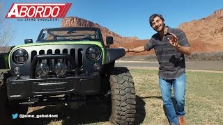 Jeep TrailCat Concept - Prueba A Bordo