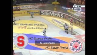 Play off Tipsport extraligy 2003/2004 - semifinále: HC Sparta Praha vs. HC Slavia Praha