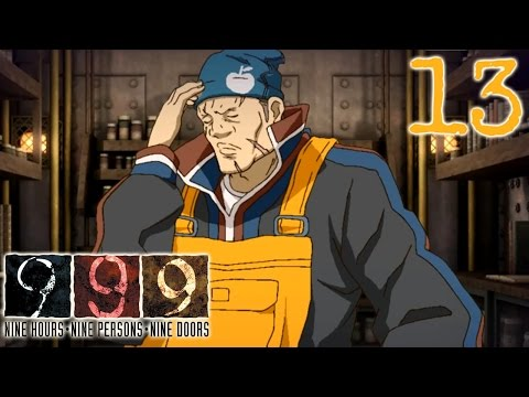 999 - Part 13 - Composition - Blind PC Let's Play Nine Hours Nine Persons Nine Doors
