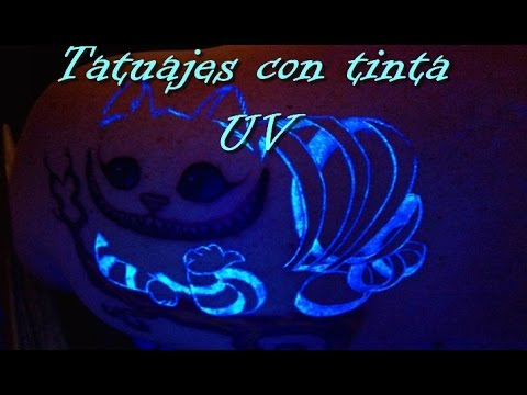 Tatuajes Con Tinta Uv Youtube