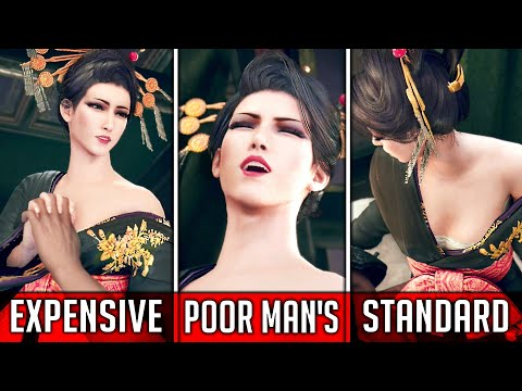 All Hand Massages from Madam M – Final Fantasy 7 Remake