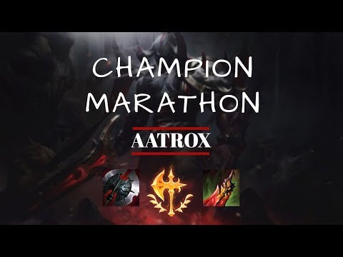 LoL Champion Marathon #1: Learn how to play Aatrox