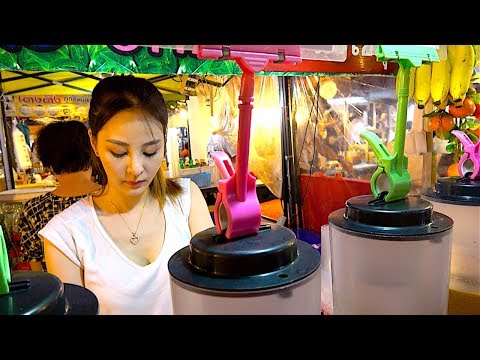 Street Food in The Night Market - Street Food in Thailand Ep17