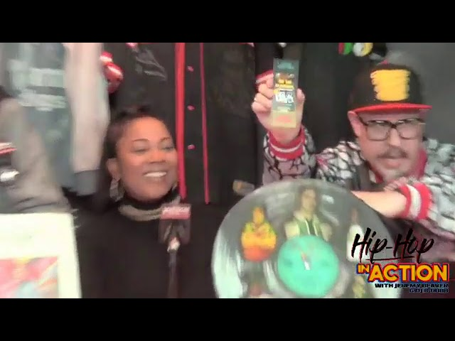Celebrating 1yr Anniversary of the Hip Hop Museum Pop Up Experience