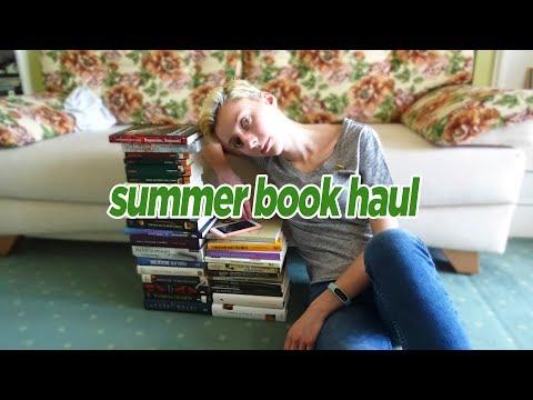 КНИЖНЫЕ ПОКУПКИ за лето: 34 книги!