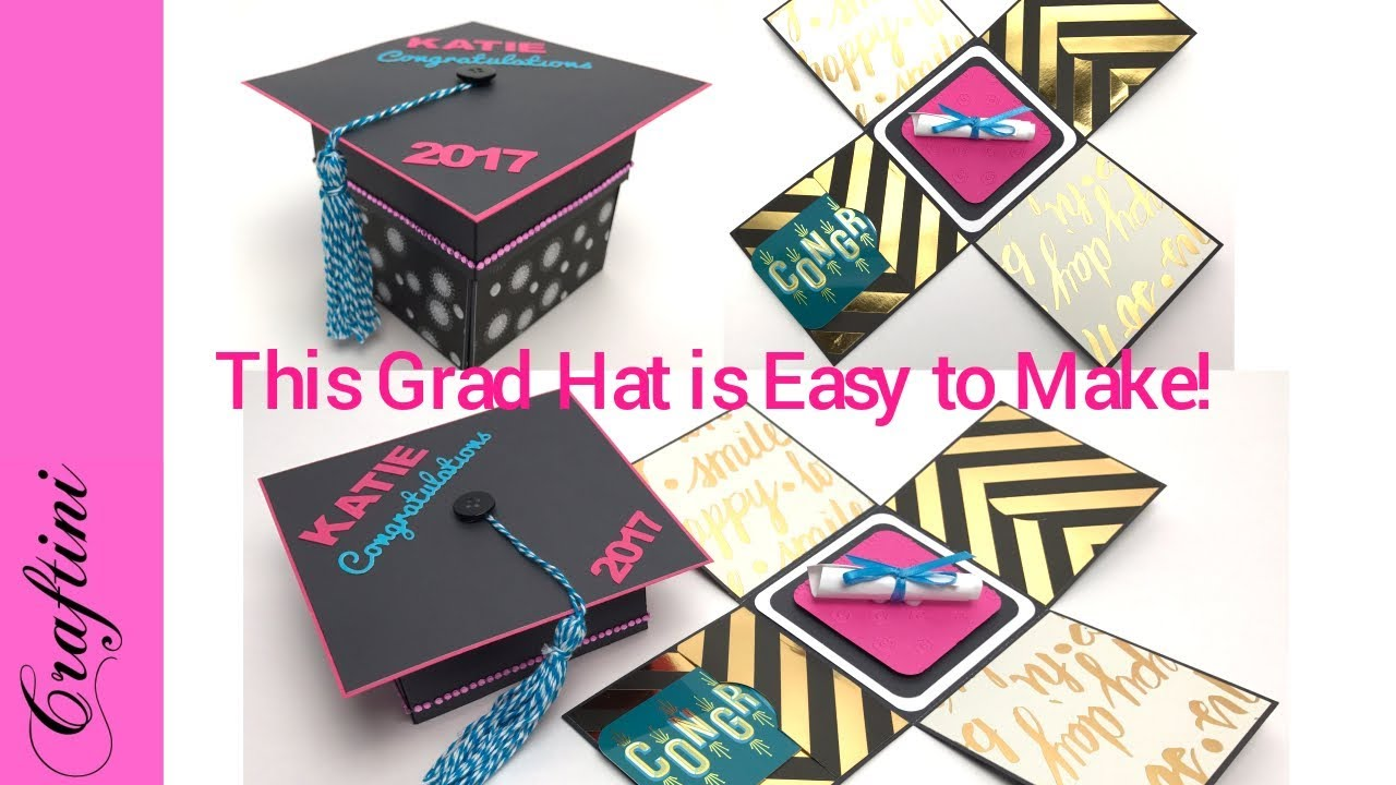 Diy How To Make Graduation Hat Gift Card Holder Easy To Follow