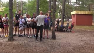 CZ23-Regiocamp z Szabelkami-Wawrzkowizna 2019-Obóz Piłkarski-Park Linowy Atakuje Nadia Zjazd  200 m