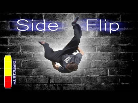 How To SIDE FLIP - Free Running Tutorial (NEW)