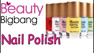 Beauty Bigbang Review✔Long Lasting Quick Dry Enamel Design Nail Polish (Beauty&Ideas Nail Art)