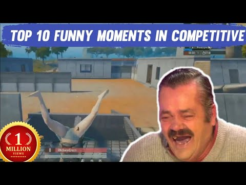 Top 10 funny moments In competitive of pubg mobile | PMCO , PMIS , PMGC , PMPL