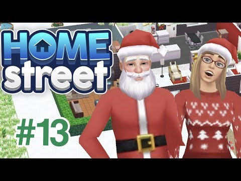 Home Street - How to Buy a Pet/Santa Claus/Christmas Decorating - Gameplay Part 13 - iOS