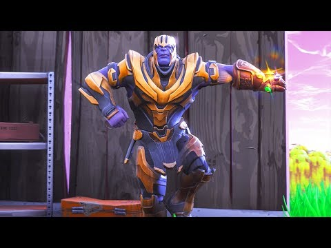 THANOS DANCE EMOTES!! Fortnite Battle Royale