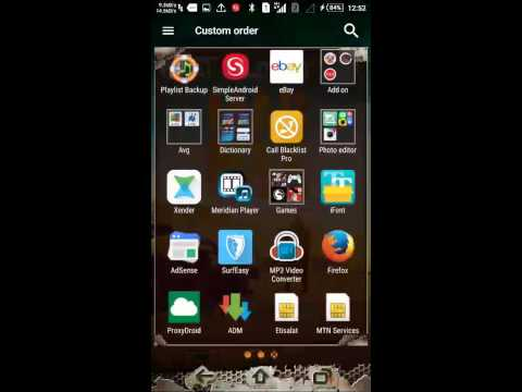 Sony Xperia FONT changer(rooted device only)
