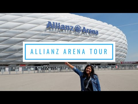 #NaviaVlog 4 - Allianz Arena Tour | Kesampean ke Stadion FC Bayern Munchen!!!