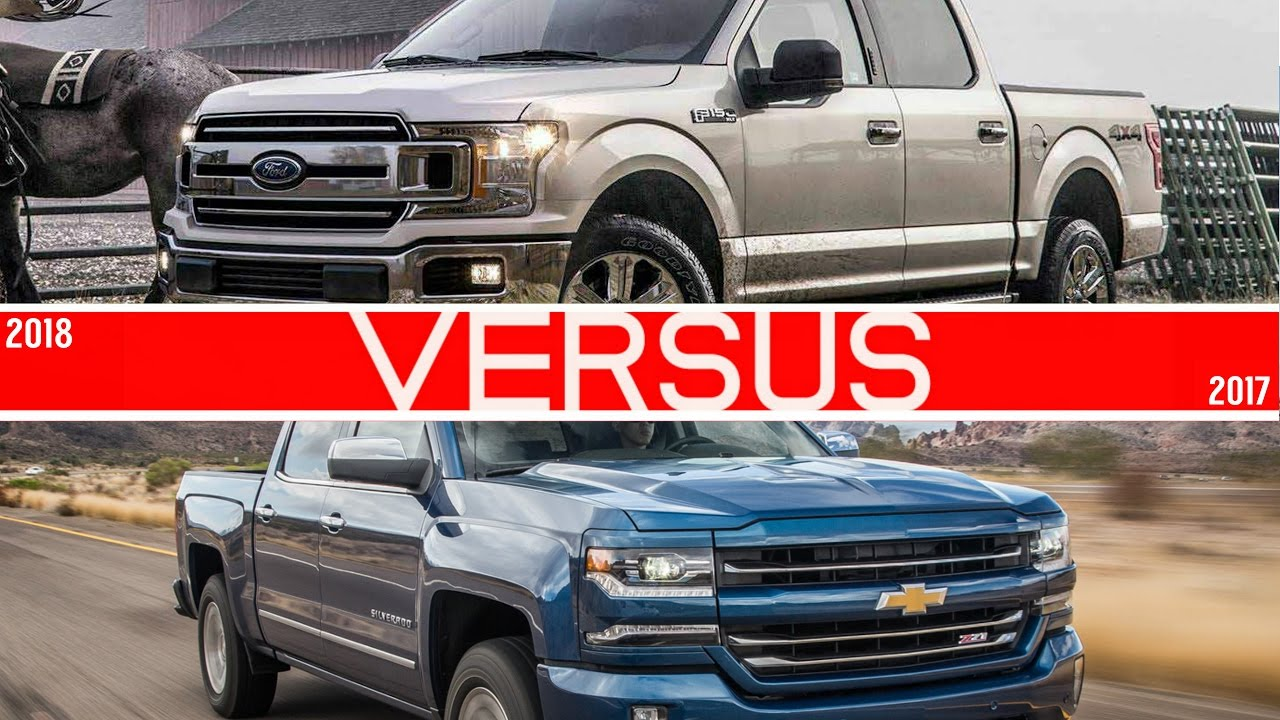 2018 ford f150 vs chevrolet silverado youtube. Black Bedroom Furniture Sets. Home Design Ideas