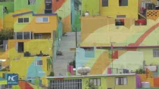 Mega mural helps improve community ethos in Mexico City