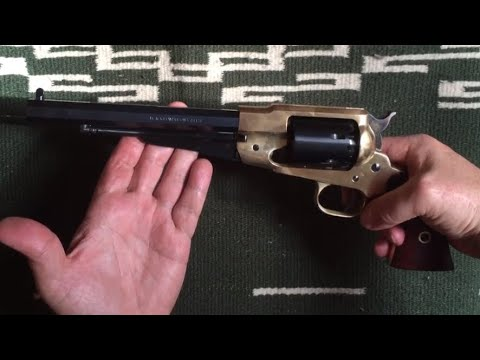 Remington 1858 New Model Army - Confederate Brass (Unboxing)
