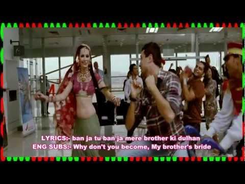MERE BROTHER KI DULHAN - LYRICS & ENG SUBS - MERE BROTHER KI DULHAN - FULL SONG - *HQ* & *HD*