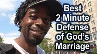 Skateboarder defends God