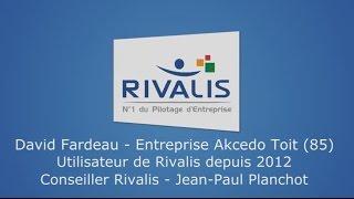 Témoignage Client Rivalis - David - Couvreur