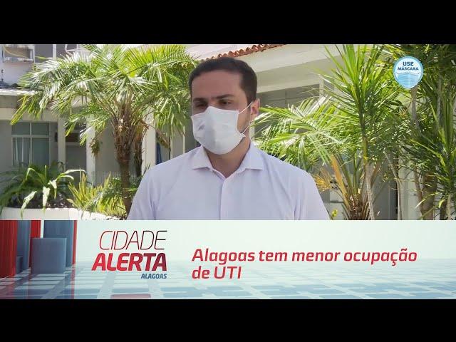 Alagoas tem menor ocupação de UTI desde o início da pandemia