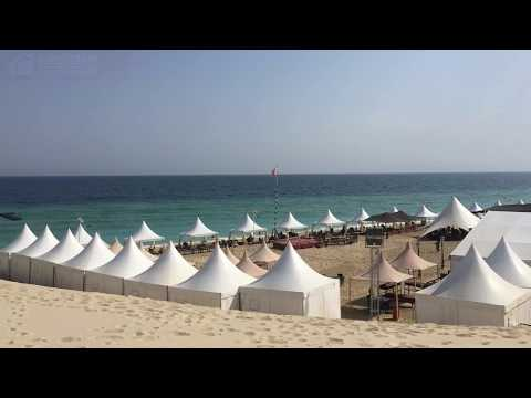 Pagoda Marquee wedding event party tent in Doha Qatar